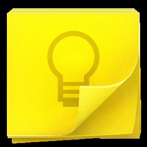 Google Keep notas y listas