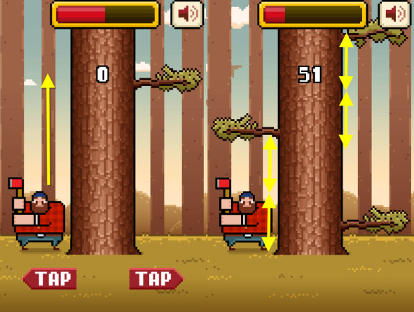 Timberman-Android