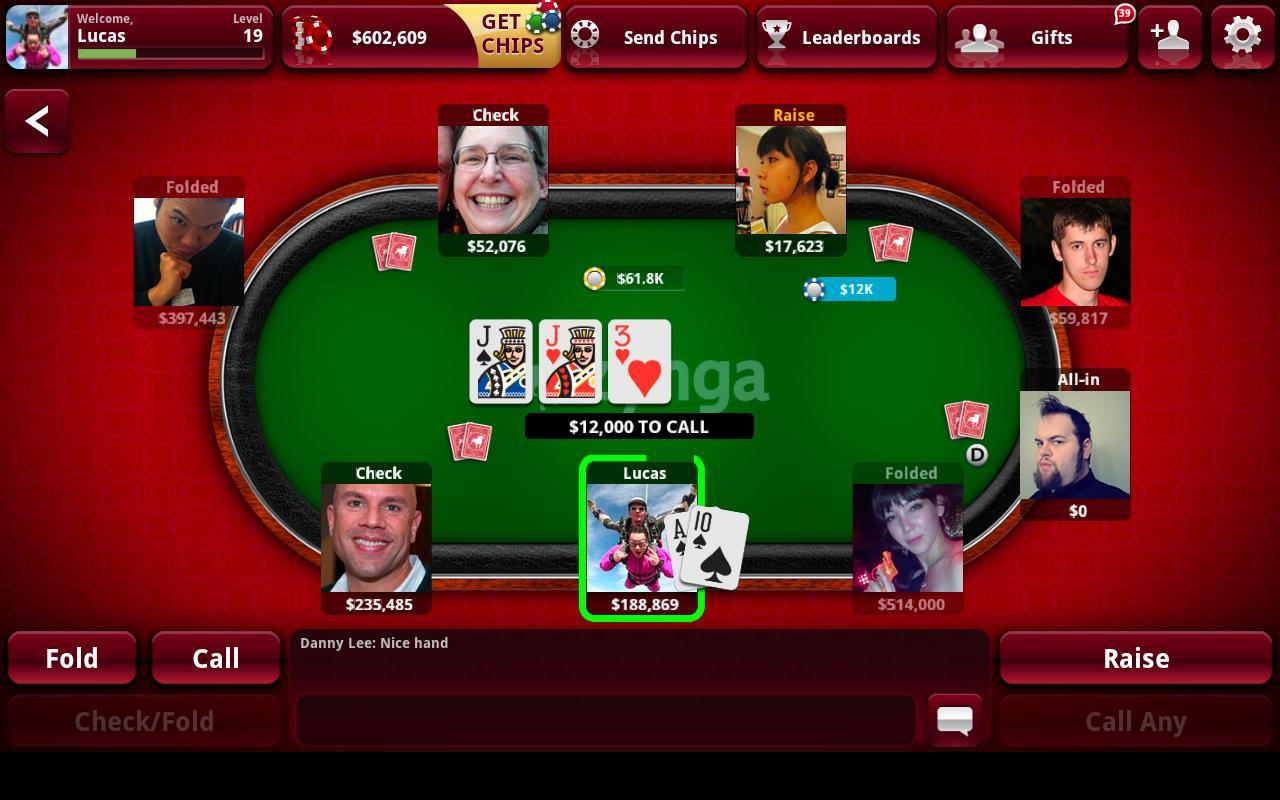 2. Zynga Poker