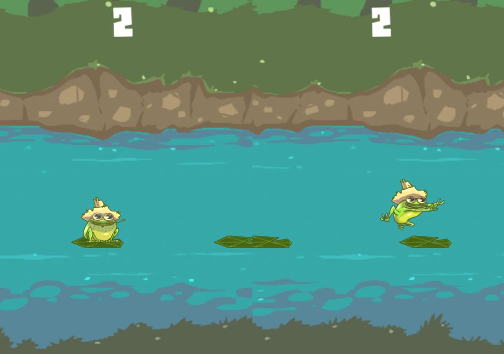 Hillbilly frog juego