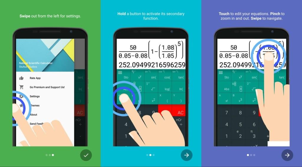 calculadora cientifica android